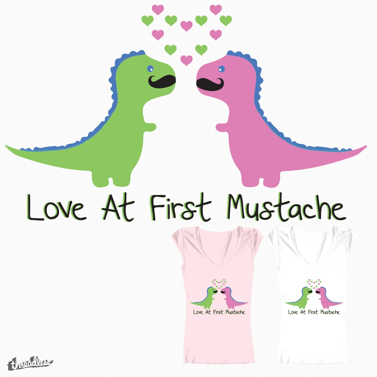 LOVE AT FIRST MUSTACHE