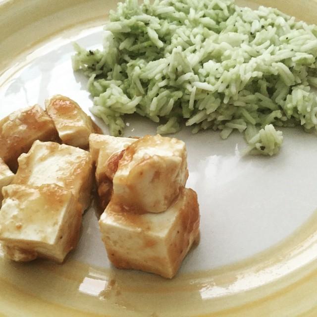 Peanut Sesame Tofu