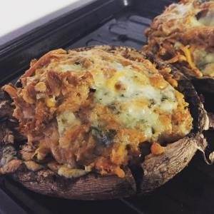 Stuffed Portobello Mushroom | TiffSetzler.Wordpress.com