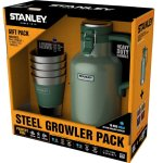 Vacuum Growler & Stacking Steel Tumblers