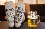 Please Bring Me Beer Socks
