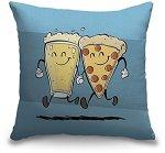 Beer & Pizza Pillow