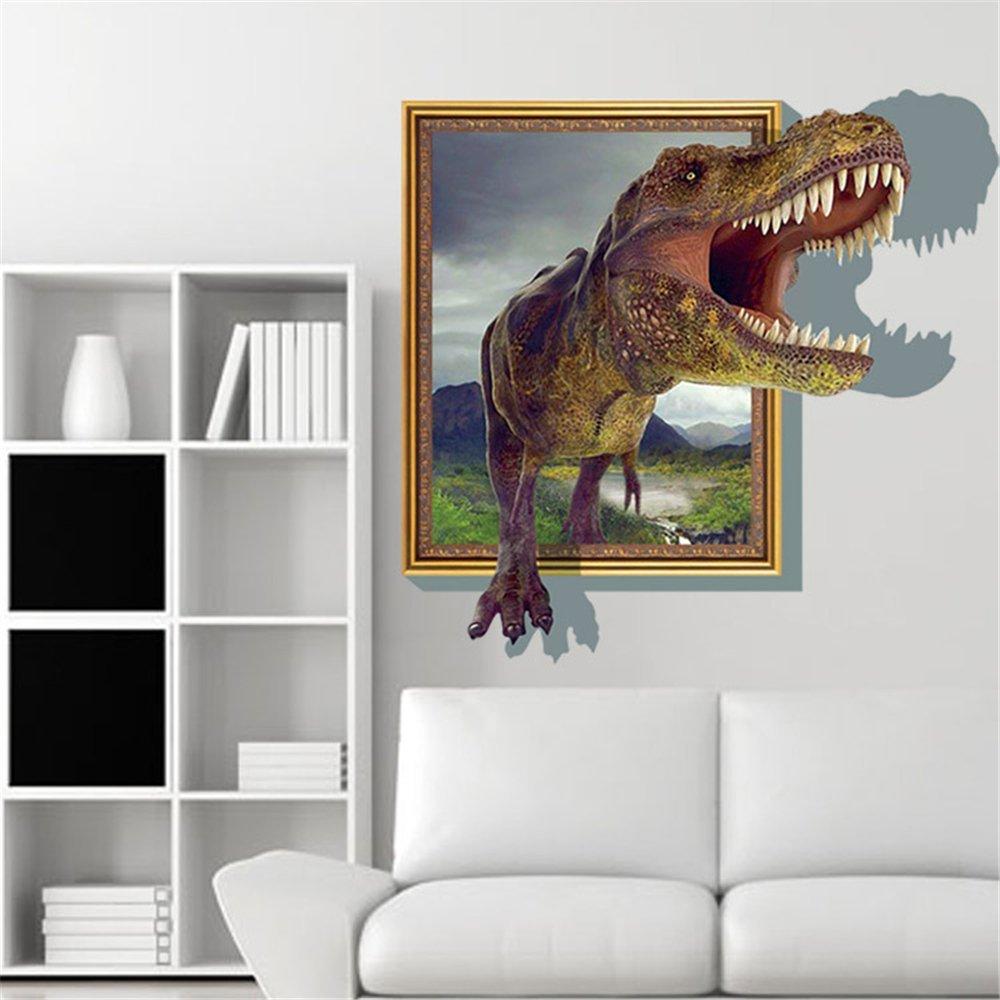 Running Tyrannosaurus Wall Stickers