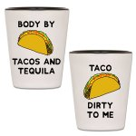 Taco Tuesday Shot Glasses