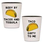 Taco Tuesday Shot Glasses