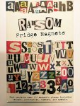 Scary Ransom Letter Fridge Magnets