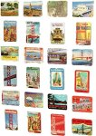 Travel Destination Magnets